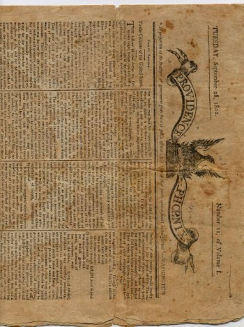 Image for Providence Phoenix: Tuesday, September 28, 1802